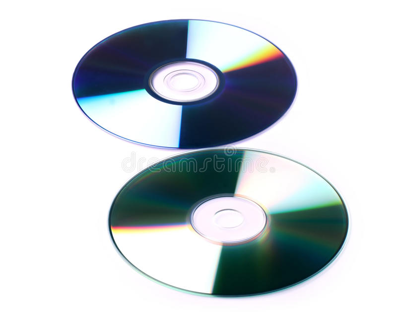 Download Cd And Dvd White Background Stock Illustration - Image: 21310260