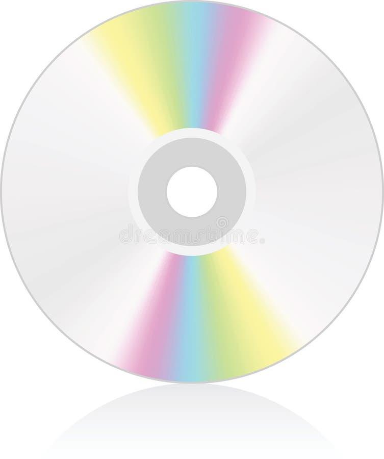 cd dvdmedel royaltyfri illustrationer