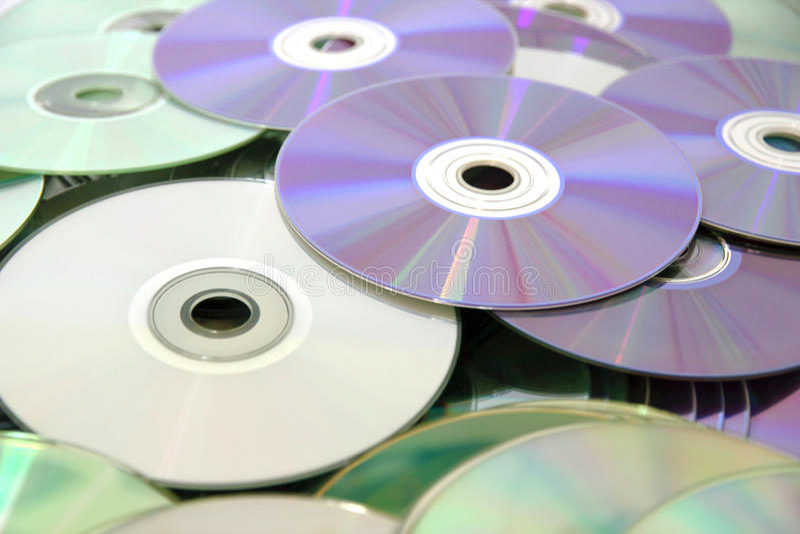 CD e DVD fotos de stock royalty free