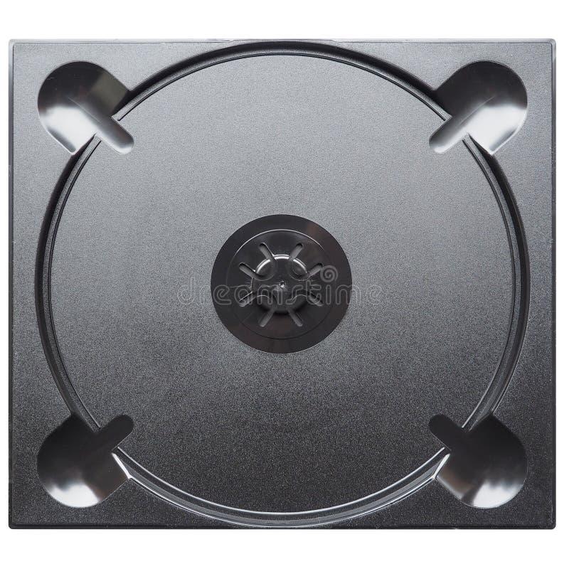 CD- eller DVD-fall royaltyfri fotografi