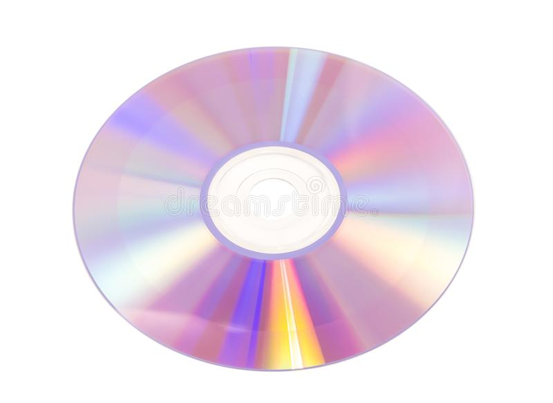 CD em branco fotografia de stock royalty free