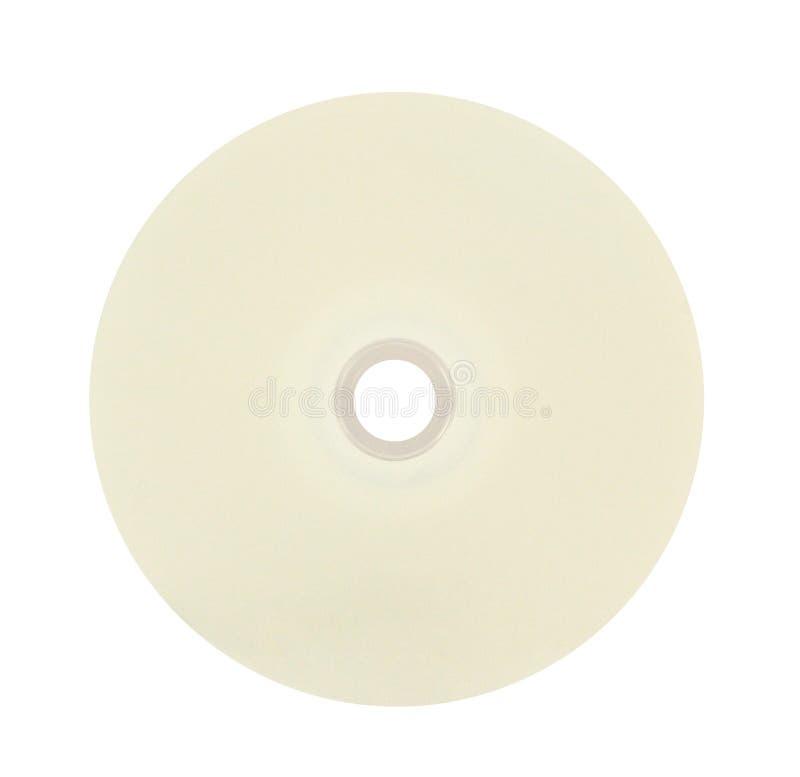 CD en blanco foto de archivo libre de regalías