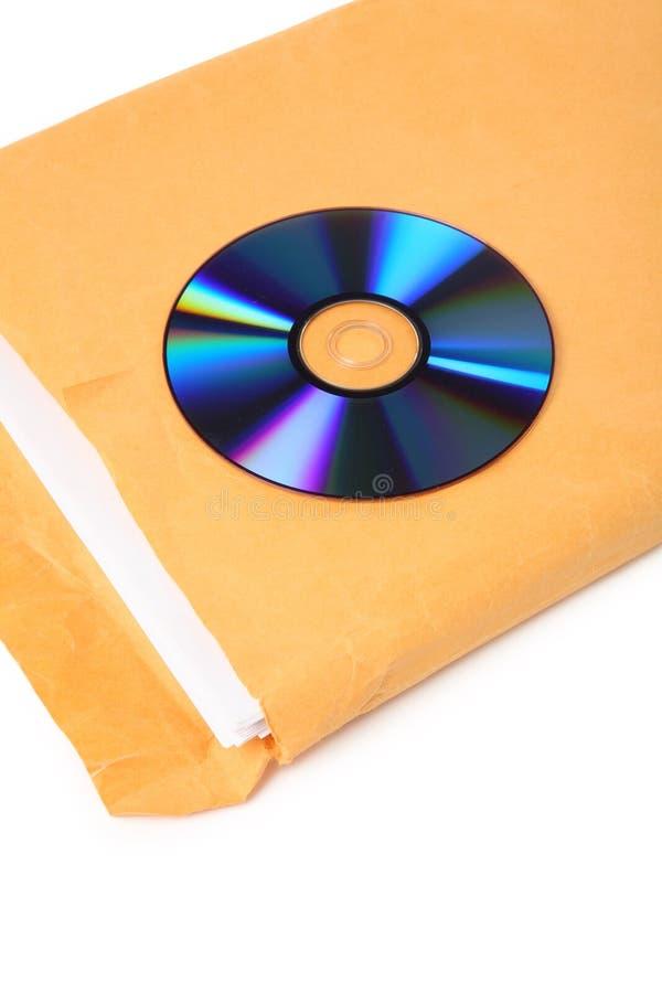 CD en document royalty-vrije stock afbeelding