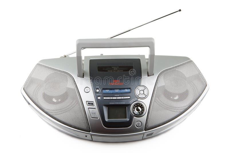 CD et lecteur de cassettes photographie stock