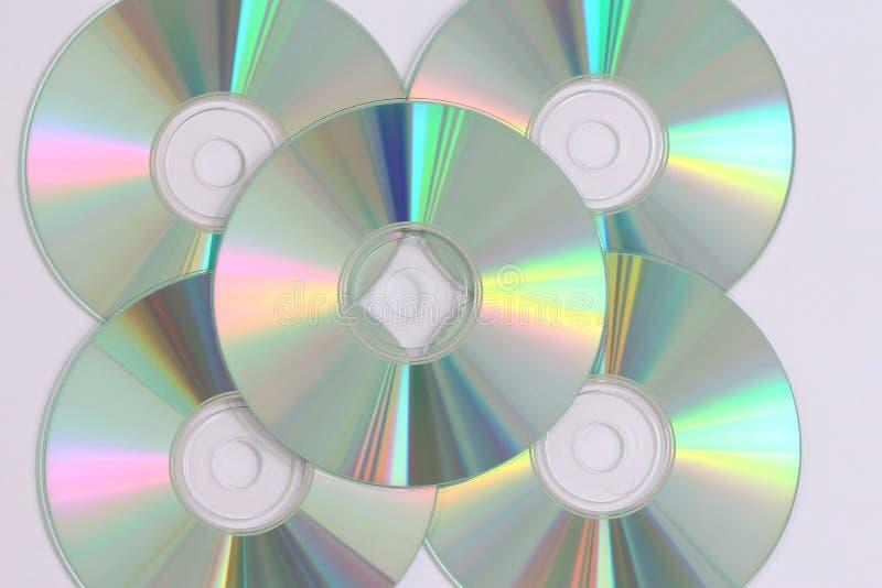 CD gegevensopname royalty-vrije stock foto