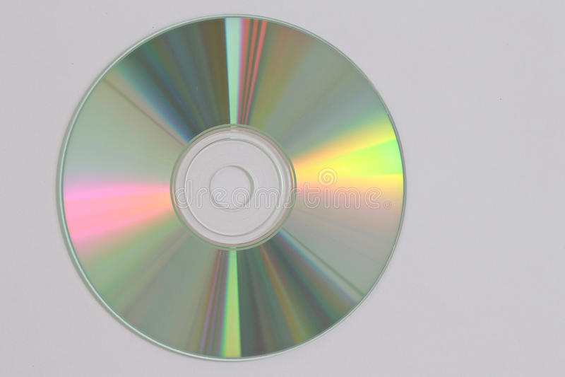 CD gegevensopname stock afbeelding