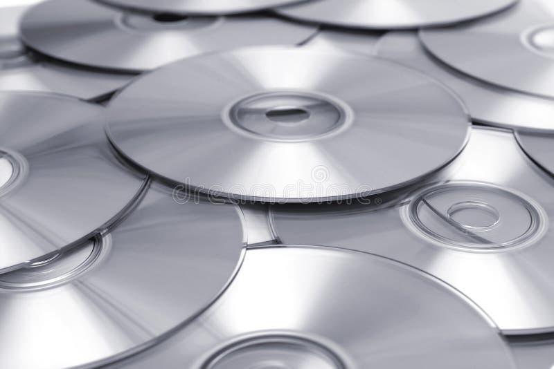 CD Hintergrund BW lizenzfreies stockfoto