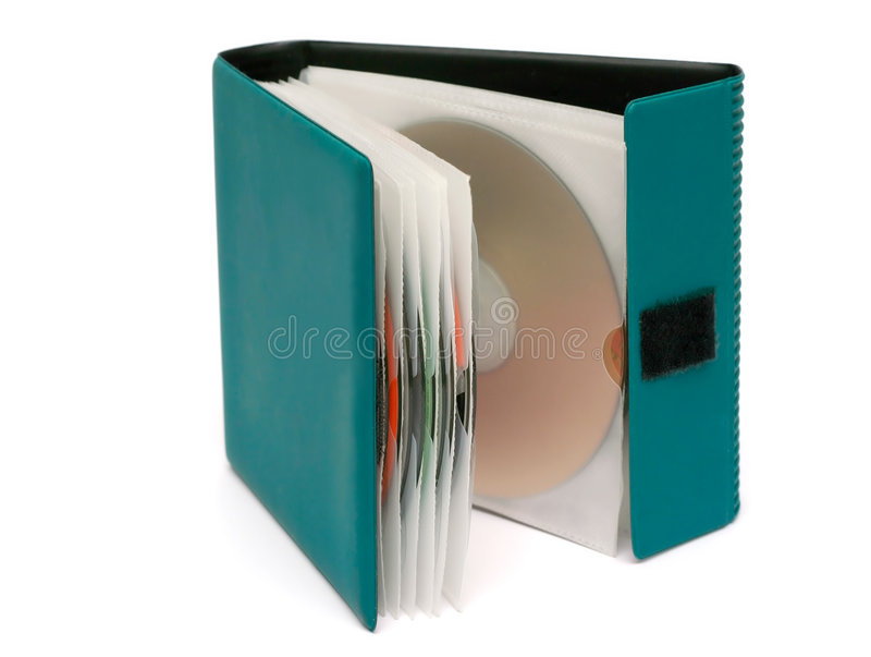 CD Houder stock fotografie