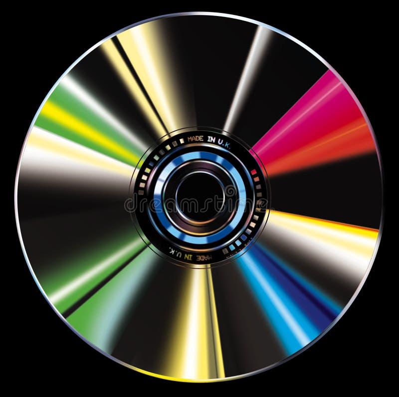 CD illustratie stock illustratie