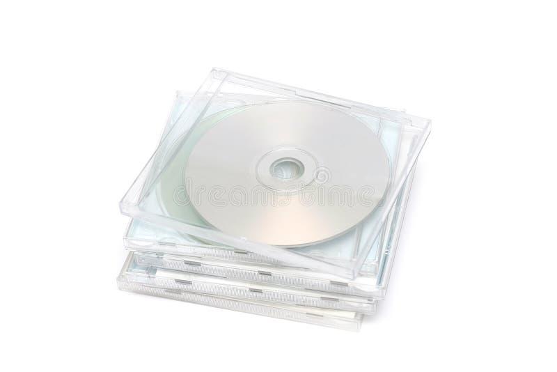 CD Juwel-Kasten-Stapel I lizenzfreies stockbild