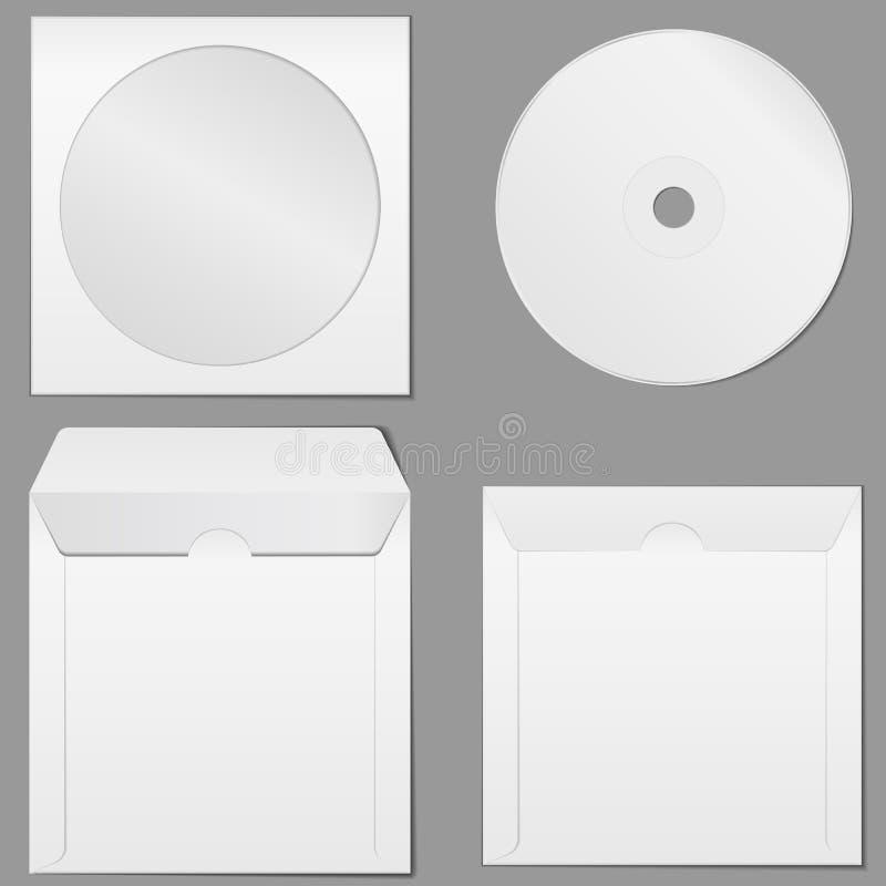 CD Kasten lizenzfreie abbildung