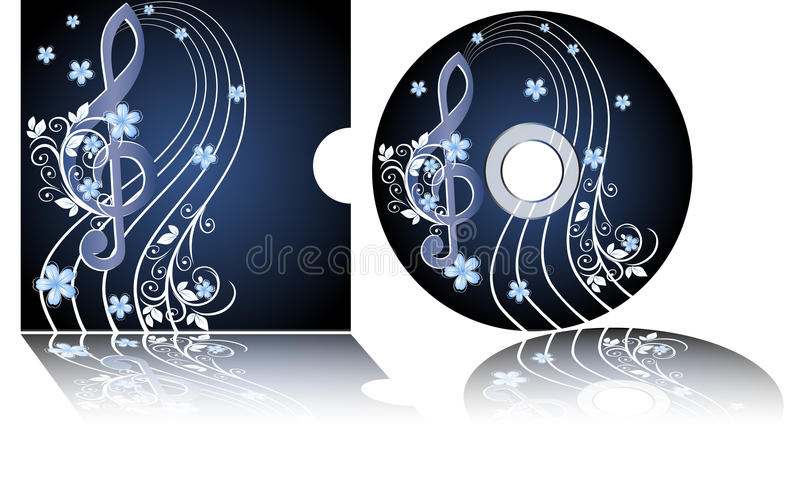CD Kennsatz lizenzfreie abbildung