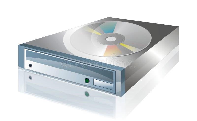 CD Laufwerk 2 lizenzfreie abbildung