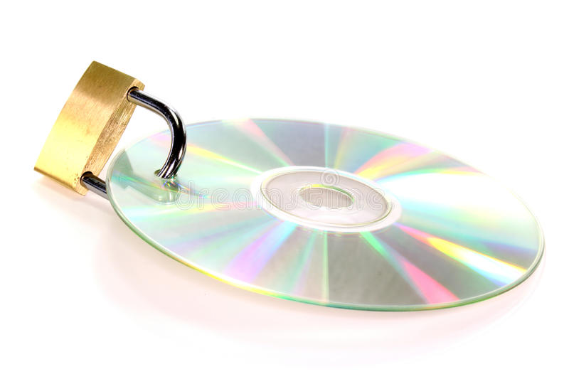 Download CD-Lock stock photo. Image of computer, theft, lock, access - 20327300
