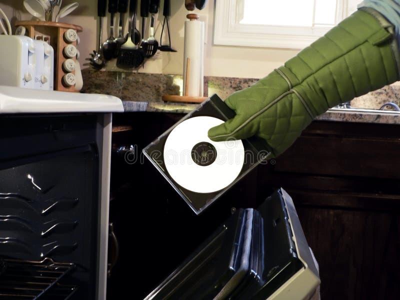 CD - música quente 3 fotos de stock