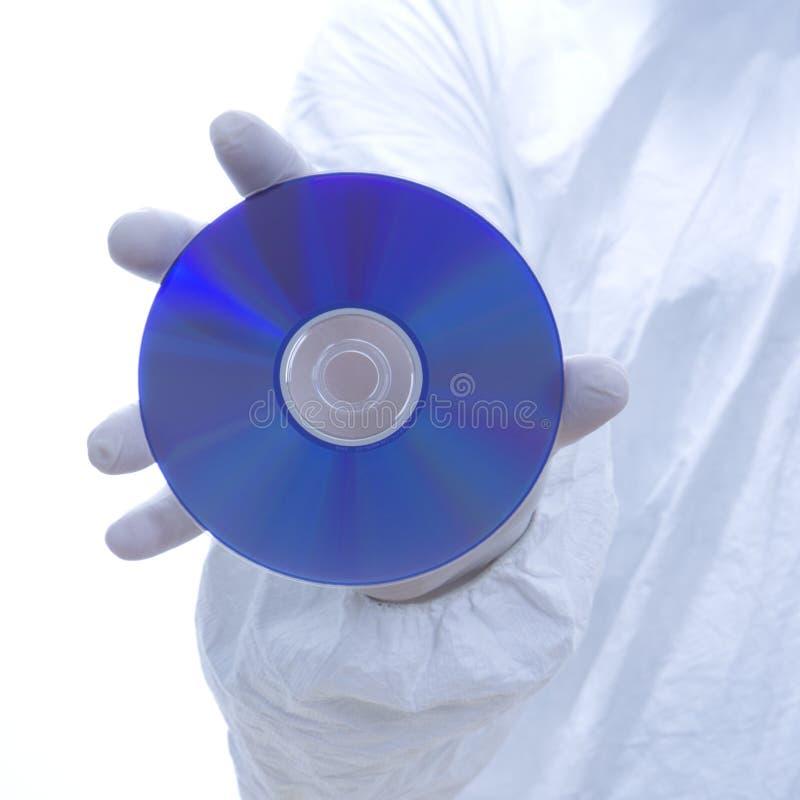 cd mandräkt för biohazard arkivbild