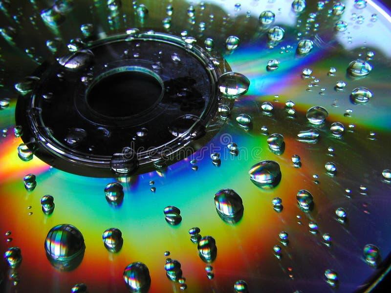 CD molhado imagens de stock