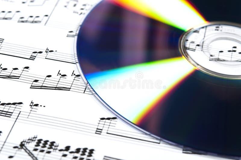 cd musikalisk ställning royaltyfria foton