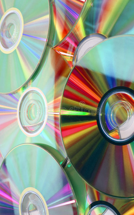 cd muzyczni zdjęcie royalty free