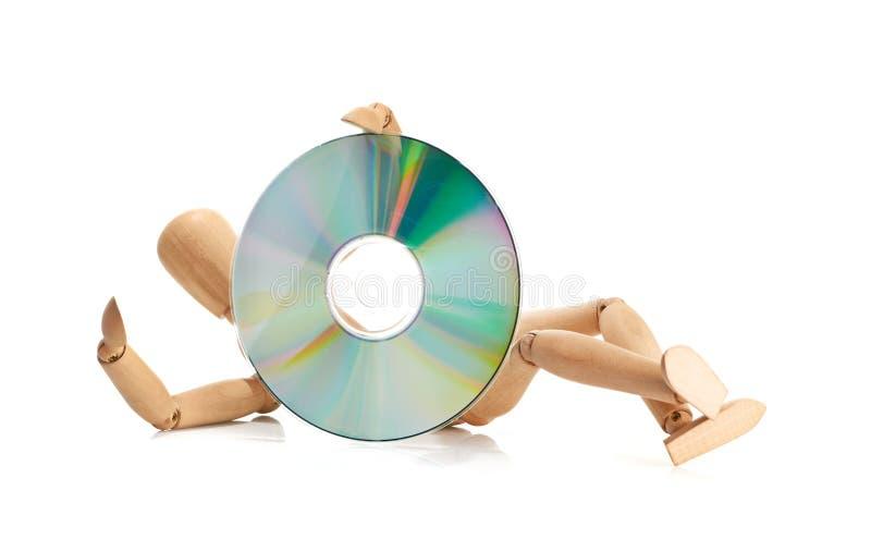 Download CD ou DVD imagem de stock. Imagem de armazenamento, recordable - 26512491