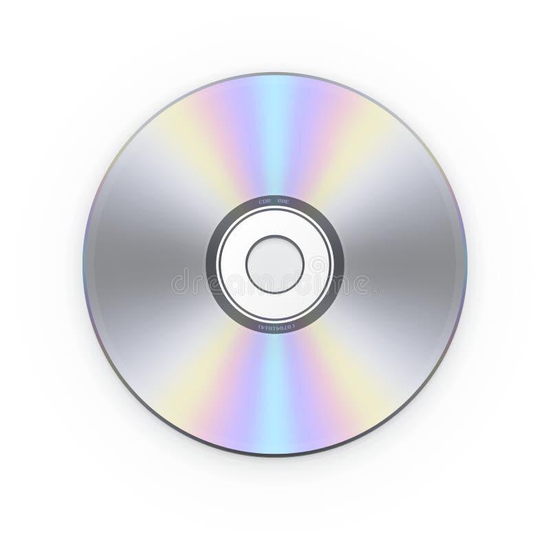 CD Platte vektor abbildung