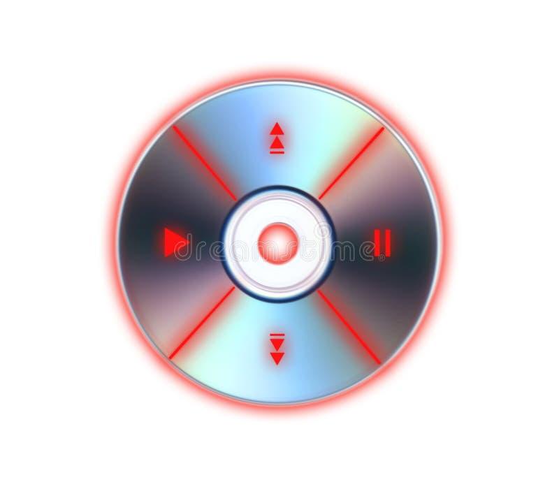 CD-Player lizenzfreie abbildung