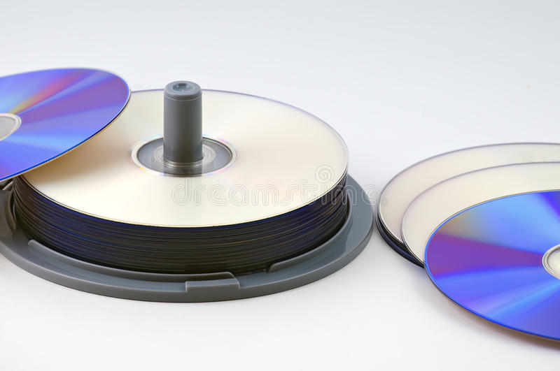 Download CD-R data discs stock image. Image of white, background - 10975977