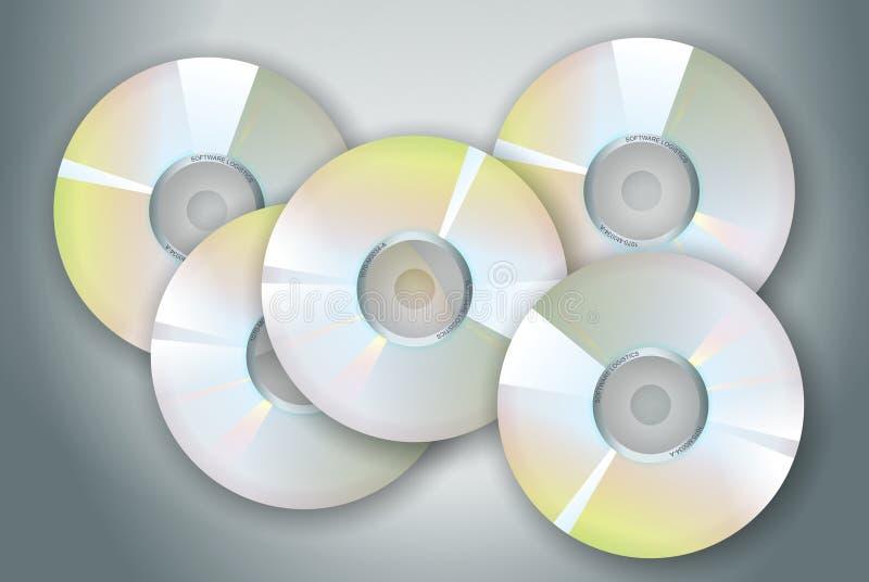 Download CD-ROM 库存例证. 插画 包括有 多媒体, 图象, 信息, 存贮, 硬件, 光盘, 媒体, 计算机, 数字式 - 52150