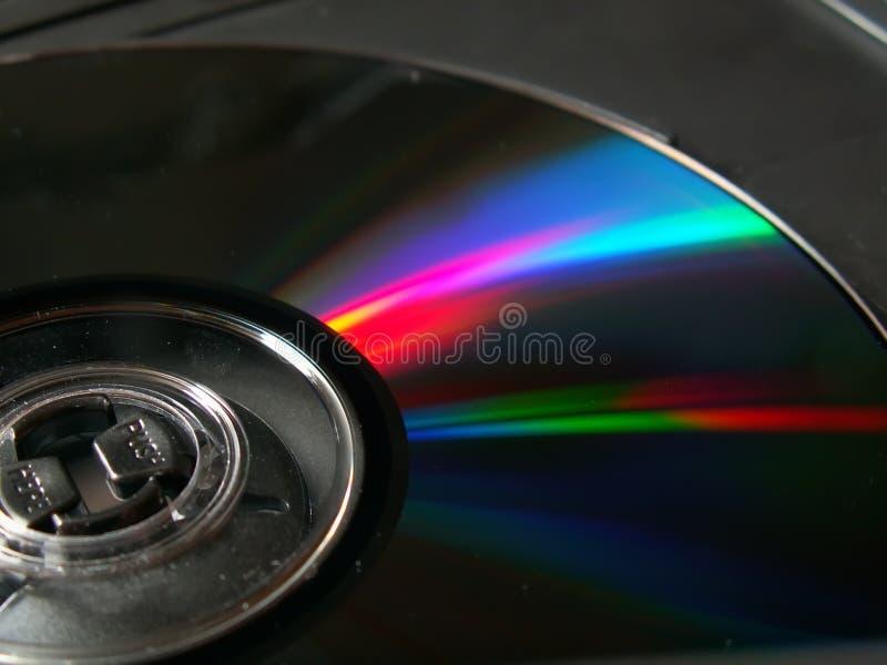CD ROM. Closeup stock images