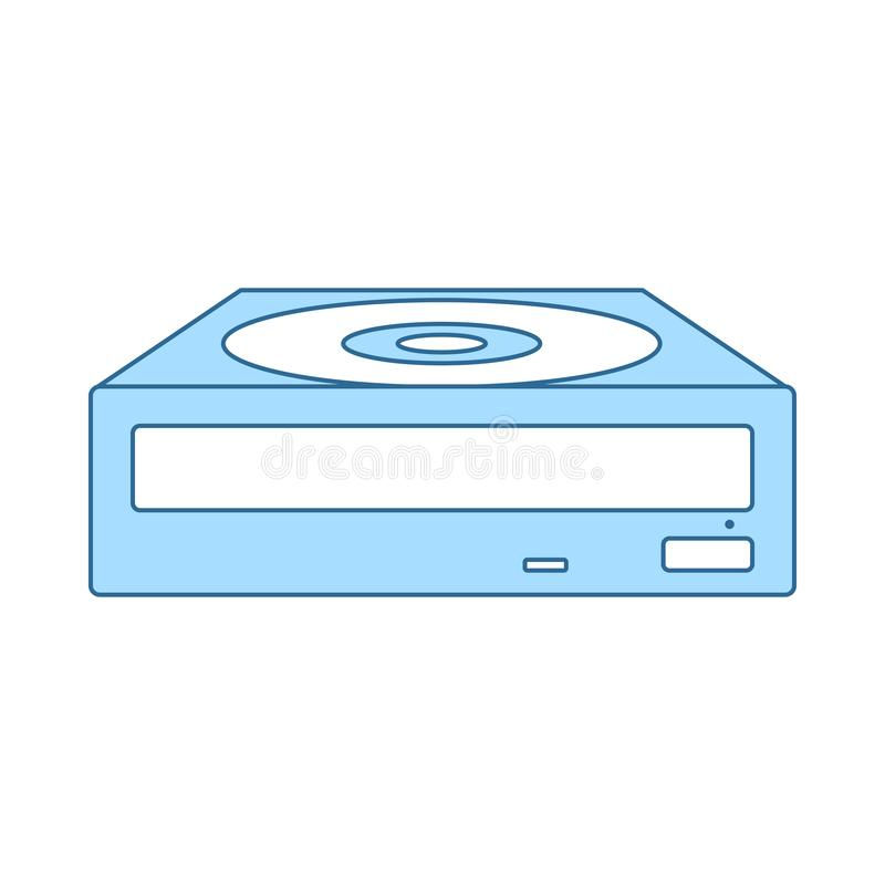 CD-ROM Icon royalty free illustration