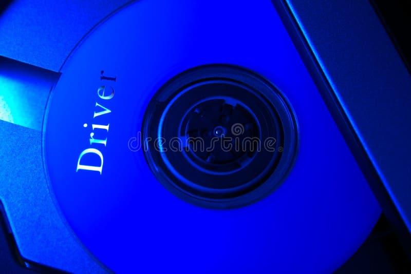CD-rom laptop royalty-vrije stock fotografie