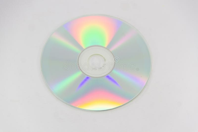 The CD-ROM for pc. On a white background stock images