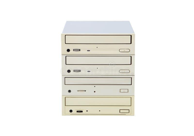 CD-ROM und Scheibe stockfotografie