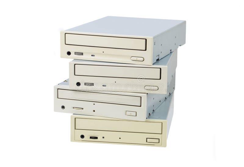 CD-ROM und Scheibe stockbilder