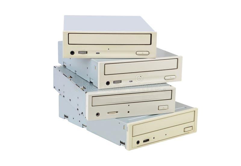 CD-ROM und Scheibe lizenzfreie stockbilder