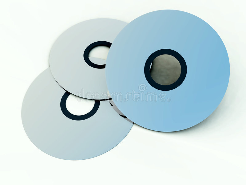 Download CD's Or DVD's 9 stock image. Image of versatile, information - 2972321