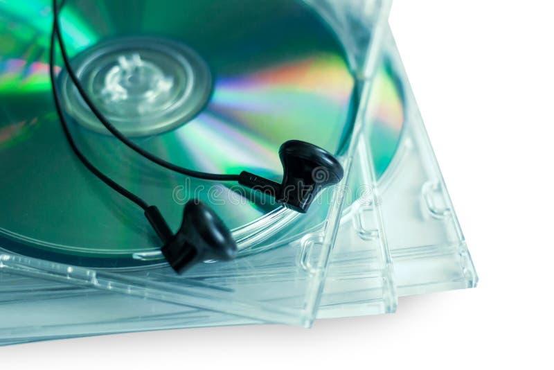 CD-schijf voor gegevensopslag royalty-vrije stock foto