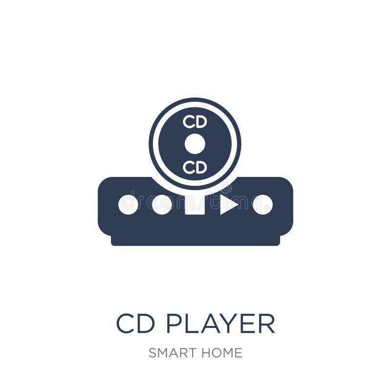CD spelerpictogram  vector illustratie