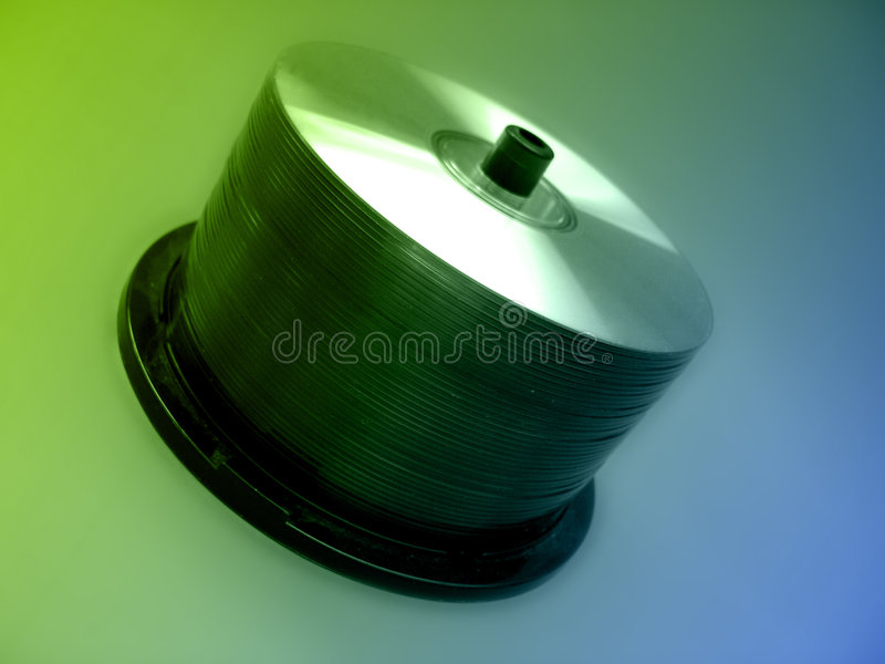 Download CD Spindel stockbild. Bild von gebrannt, carry, spindel - 26491