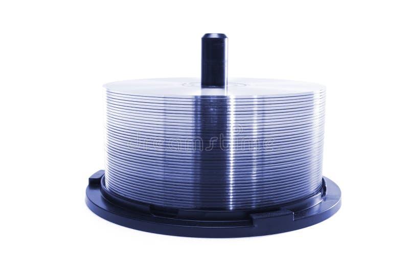 CD Spindel lizenzfreies stockbild