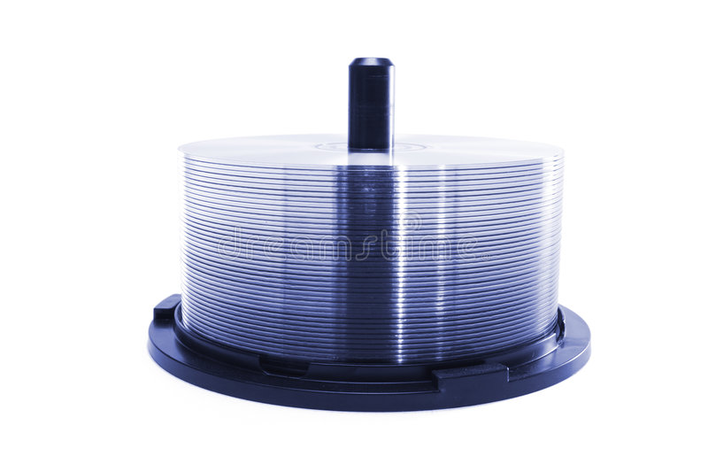 CD Spindle royalty free stock image