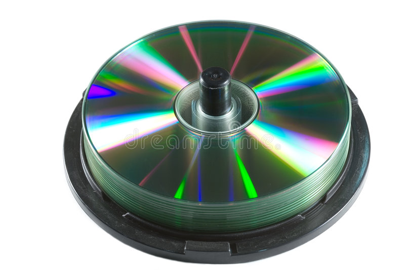 CD spindle stock photos