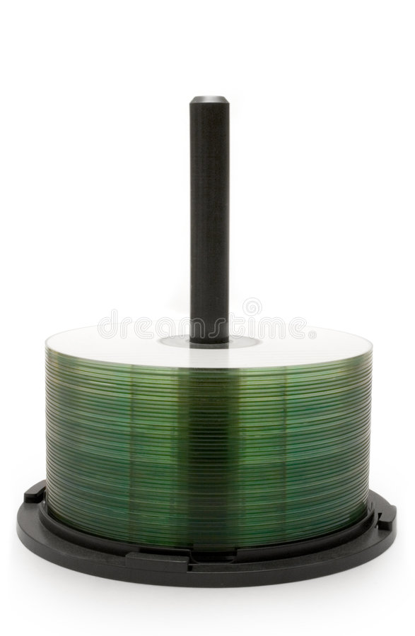 CD Stack (Side View) stock images