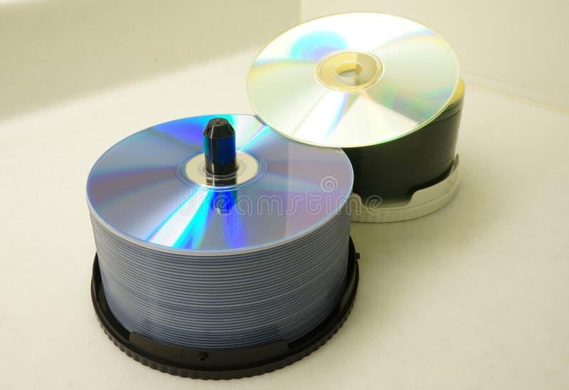 CD stapel royalty-vrije stock foto