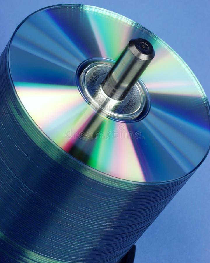 CD Stapel stock fotografie