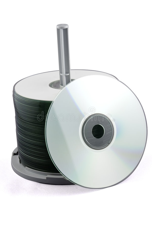 CD Stapel royalty-vrije stock afbeeldingen