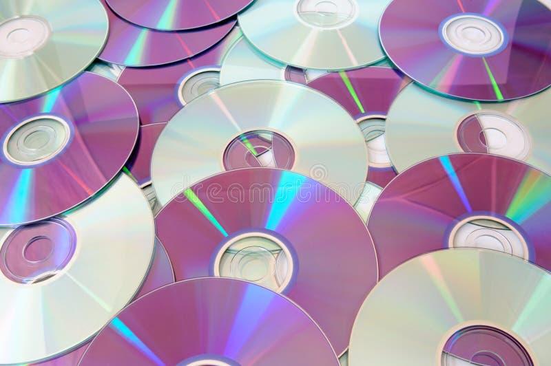 CD van de muziek stock foto