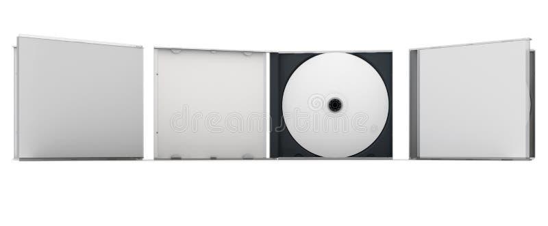 CD vide image libre de droits