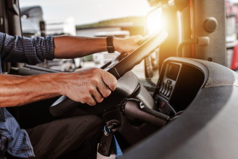 CDL reklamy kierowca zdjęcie stock