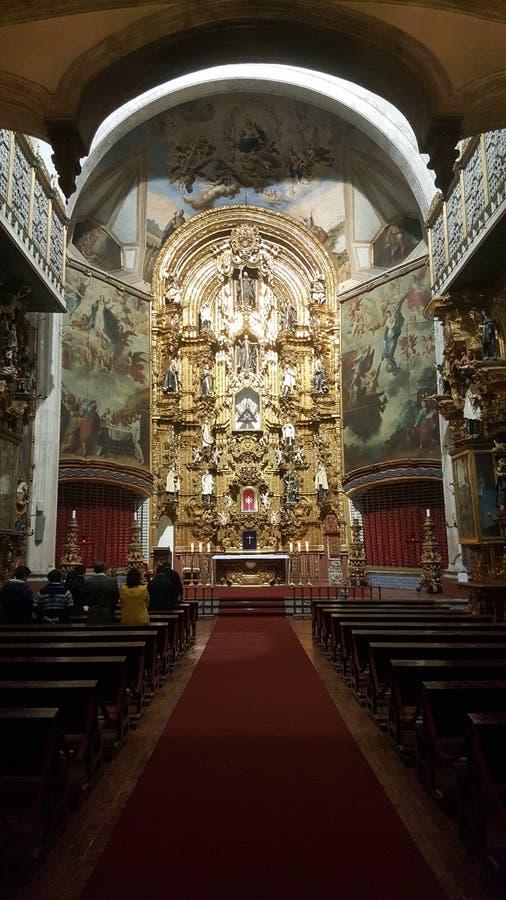 Cdmx du Mexique d'église photo stock